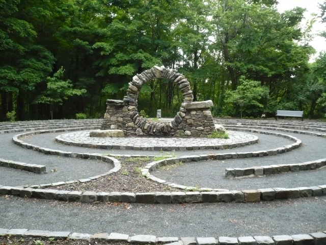 Labyrinth at Passionist Retreat Center, West Hartford