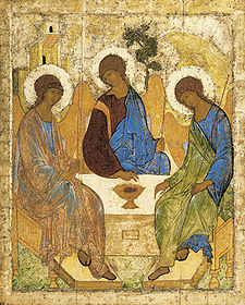 The Angel Trinity by Andrei Rublev