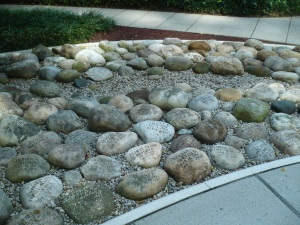 Memorial stones for homicide victims