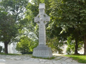 Celtic Cross in Old Quebec City