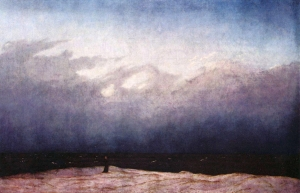"""Monk by the Sea"" by Friedrich"