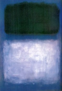 """Green on Blue"" by Rothko"