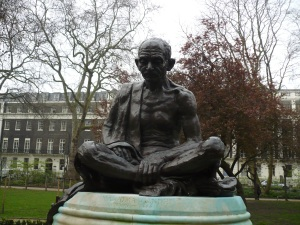Gandhi in Tavistock Square