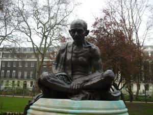 Gandhi in Tavistock Square