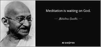 Meditation as Waiting